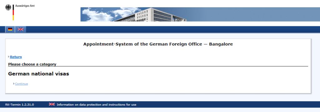 German National Visa 1