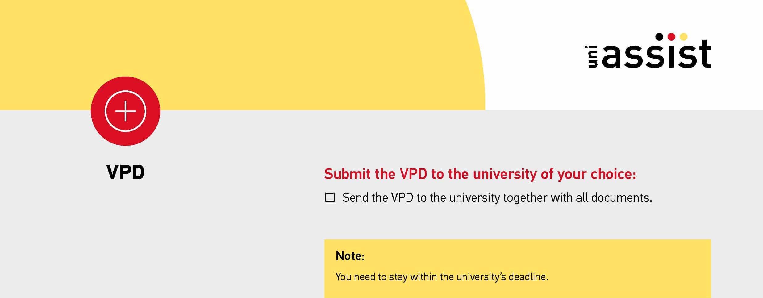 VORPRÜFUNGSDOKUMENTATION (VPD) by Uni Assist 3