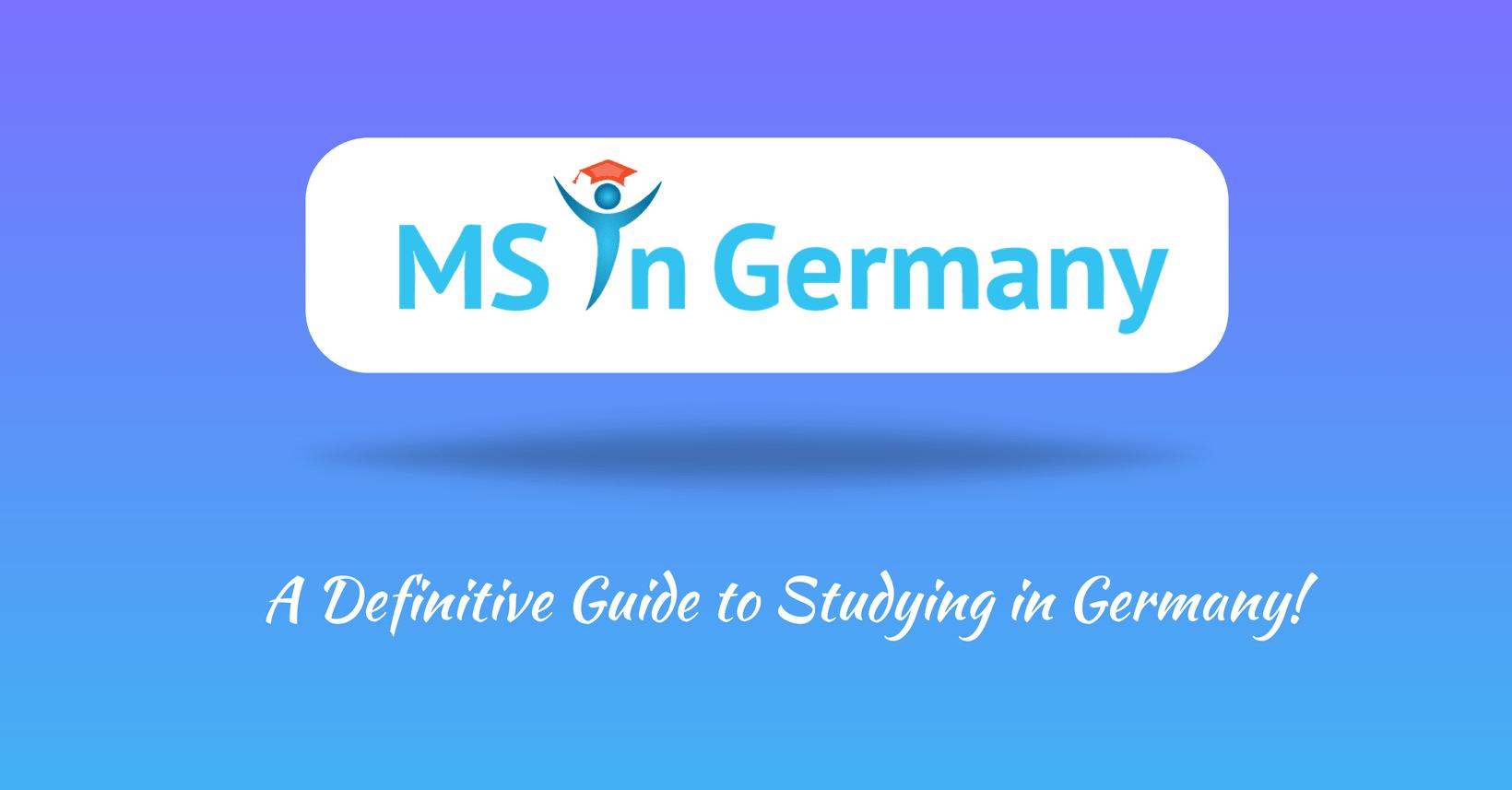 Study in Germany   MS in Germany   Higher Studies in Germany