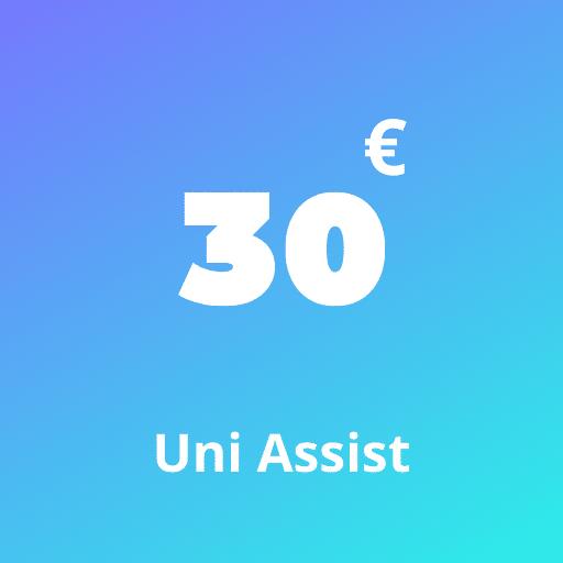 Uni Assist Fee €30 1
