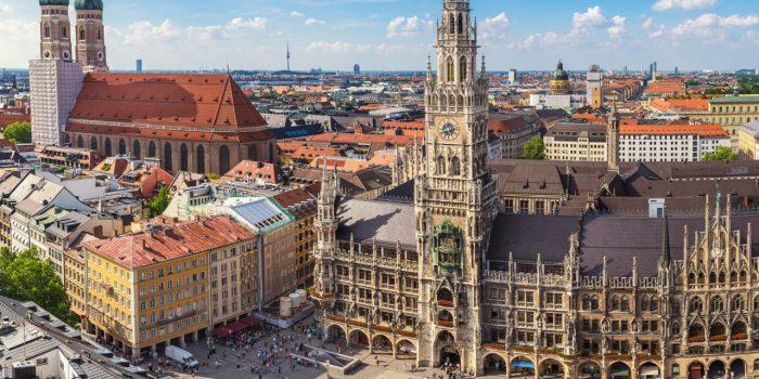 Tourist Attractions in Germany: Marienplatz